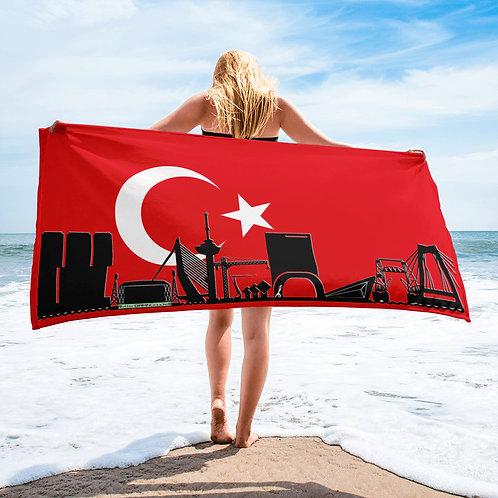 Handdoekvlag DreamSkyLine Unity Turkije