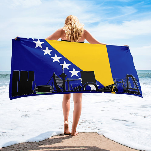 Handdoekvlag DreamSkyLine Unity Bosnië & Herzegovina