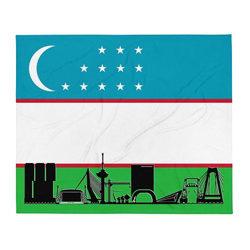 Dekenvlag DreamSkyLine Unity Oezbekistan