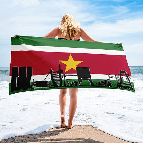Handdoekvlag DreamSkyLine Unity Suriname