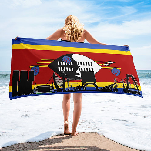 Handdoekvlag DreamSkyLine Unity Swaziland