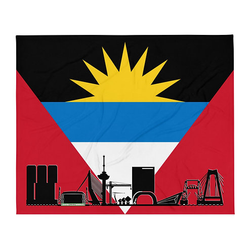 Dekenvlag DreamSkyLine Unity Antigua en Barbuda