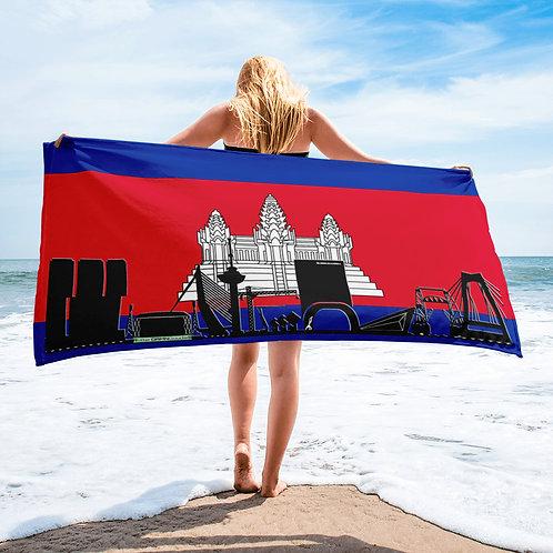Handdoekvlag DreamSkyLine Unity Cambodia