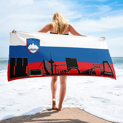 Handdoekvlag DreamSkyLine Unity Slovenië