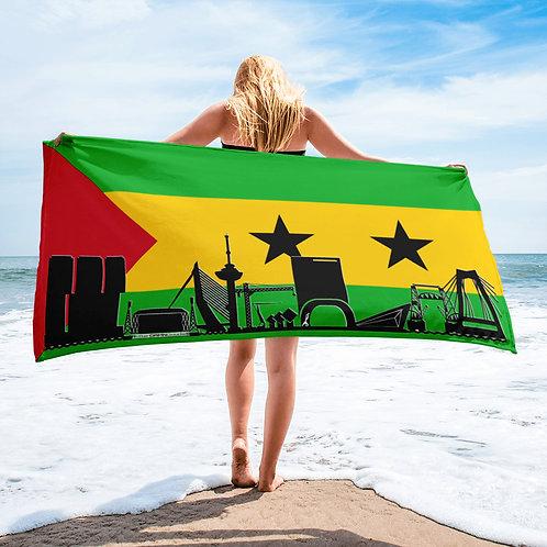 Handdoekvlag DreamSkyLine Unity Sao Tome en Principe