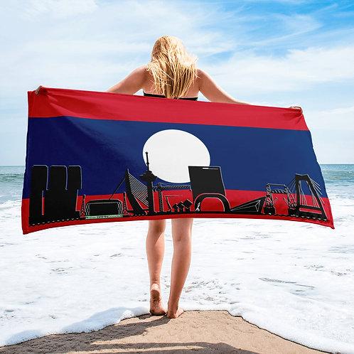Handdoekvlag DreamSkyLine Unity Laos