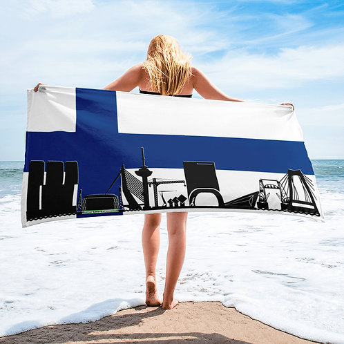 Handdoekvlag DreamSkyLine Unity Finland