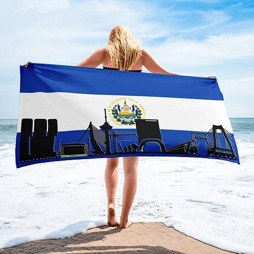 Handdoekvlag DreamskyLine Unity El Salvador