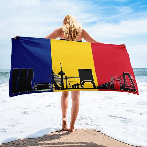 Handdoekvlag DreamSkyLine Unity Roemenië