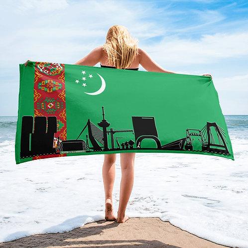 Handdoekvlag DreamSkyLine Unity Turkmenistan