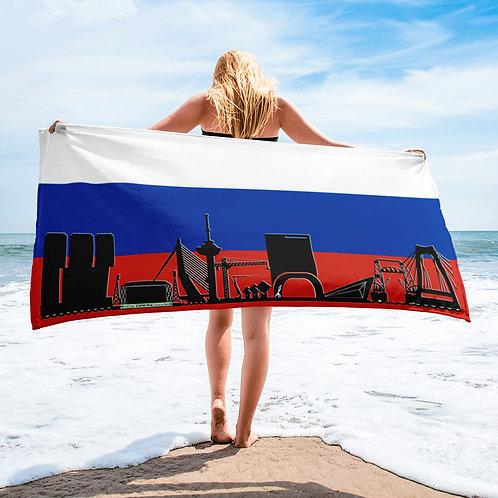 Handdoekvlag DreamSkyLine Unity Rusland