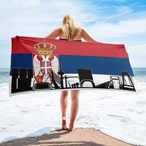Handdoekvlag DreamSkyLine Unity Servië