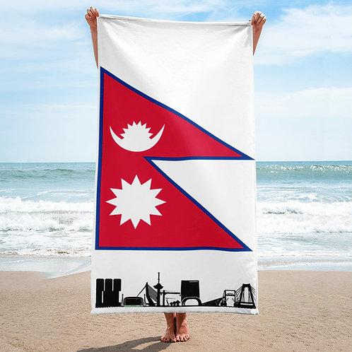 Handdoekvlag DreamSkyLine Unity Nepal
