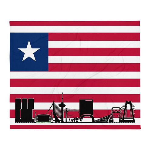 Dekenvlag DreamSkyLine Unity Liberië