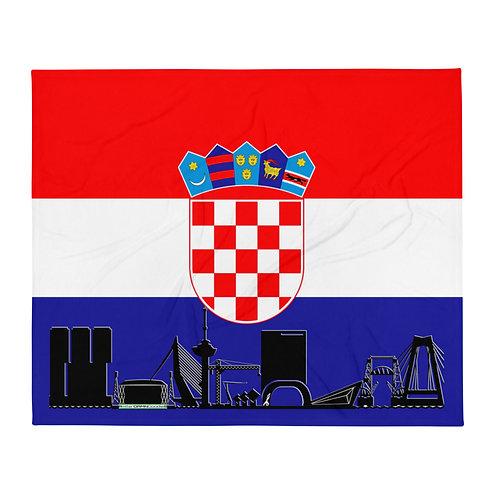 Dekenvlag DreamSkyLine Unity Kroatië