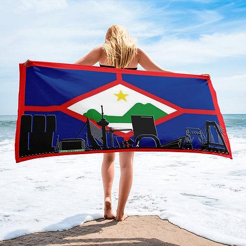 Handdoekvlag DreamSkyLine Unity Sint Eustatius