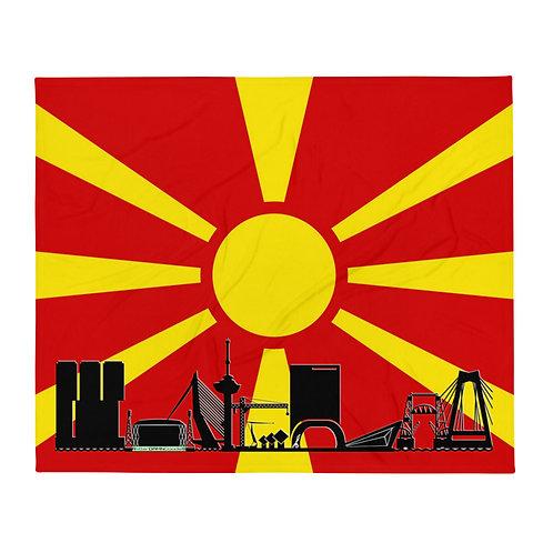 Dekenvlag DreamSkyLine Unity Macedonië