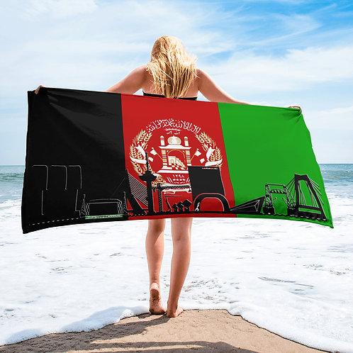 Handdoekvlag DreamSkyLine Unity Afganistan