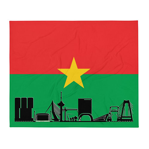 Dekenvlag DreamSkyLine Unity Burkina Faso