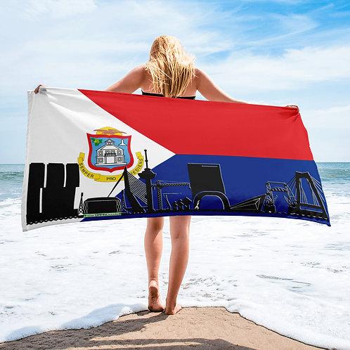 Handdoekvlag DreamSkyLine Unity Sint Maarten