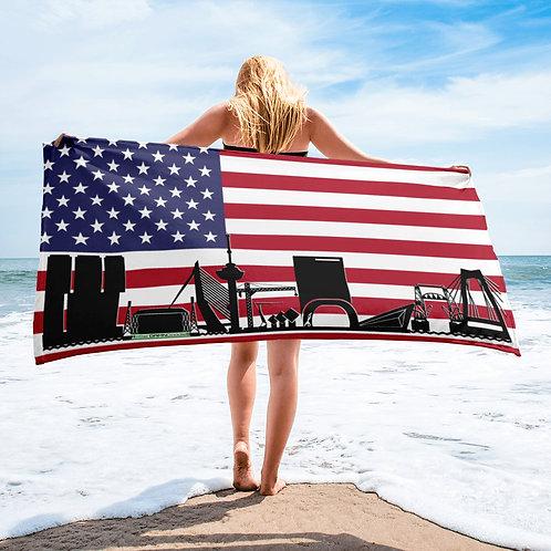 Handdoekvlag DreamskyLine Unity Verenigde Staten