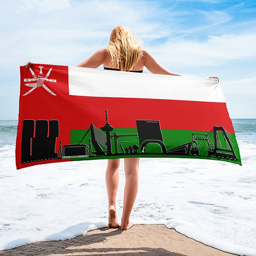 Handdoekvlag DreamSkyLine Unity Oman