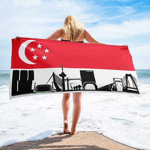Handdoekvlag DreamSkyLine Unity Singapore