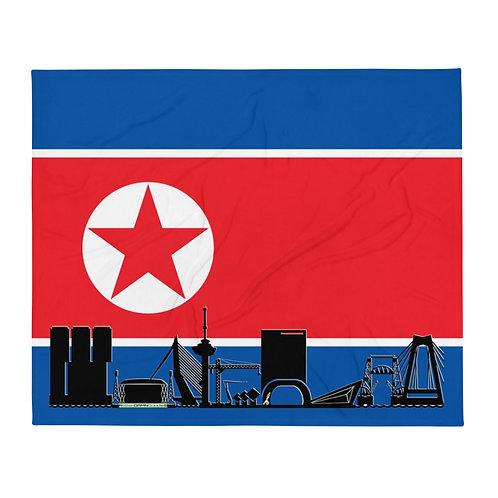 Dekenvlag DreamSkyLine Unity Noord-Korea