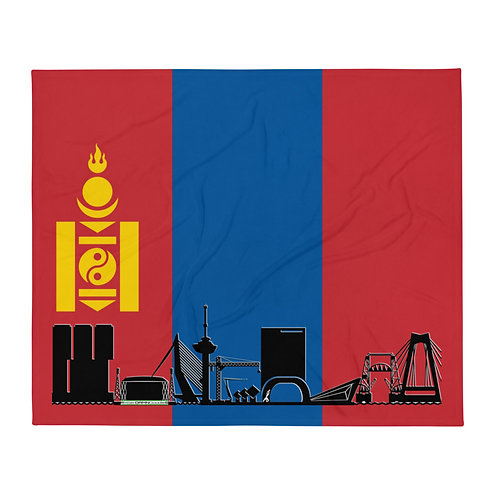 Dekenvlag DreamSkyLine Unity Mongolië