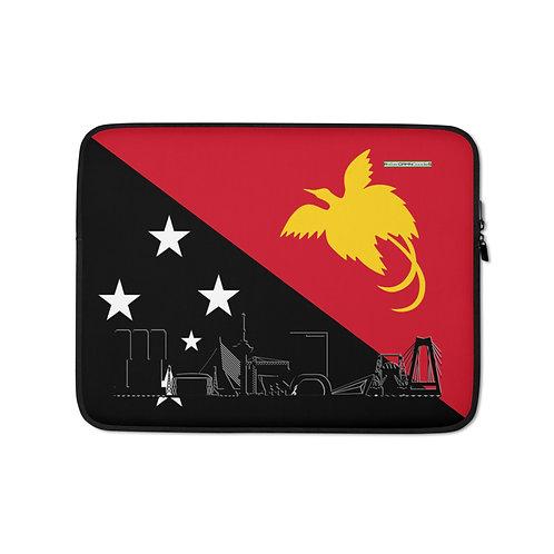 Laptopsleeve DreamSkyLine Unity Papua Nieuw Guinea
