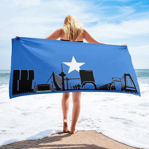 Handdoekvlag DreamSkyLine Unity Somalië
