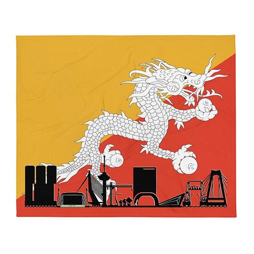 Dekenvlag DreamSkyLine Unity Bhutan