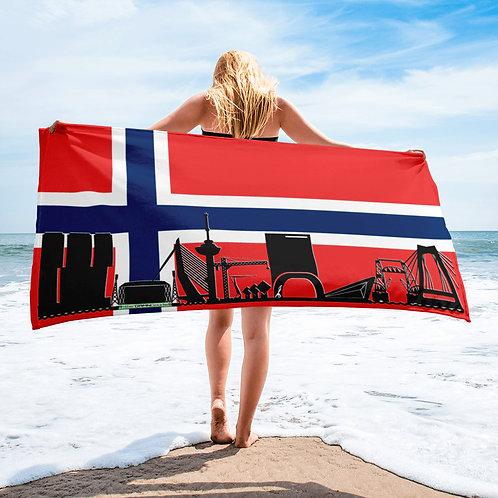 Handdoekvlag DreamSkyLine Unity Noorwegen