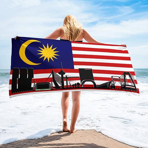 Handdoekvlag DreamSkyLine Unity Maleisië