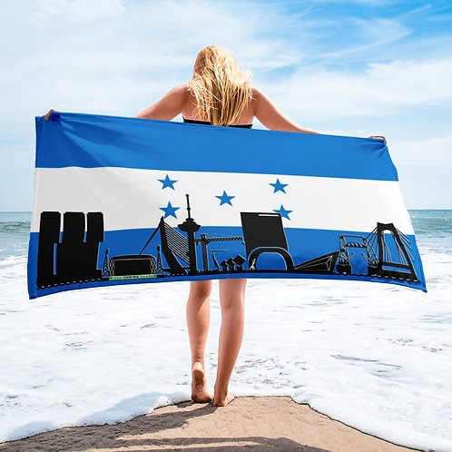 Handdoekvlag DreamskyLine Unity Honduras