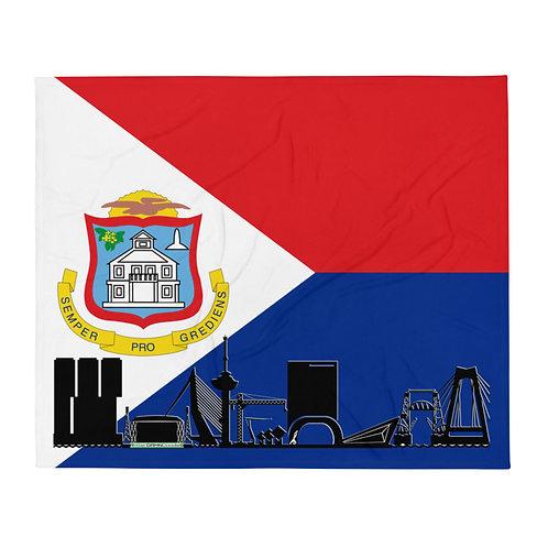 Dekenvlag DreamSkyLine Unity Sint Maarten