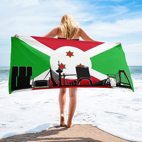 Handdoekvlag DreamSkyLine Unity Burundi