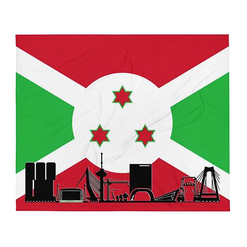Dekenvlag DreamSkyLine Unity Burundi