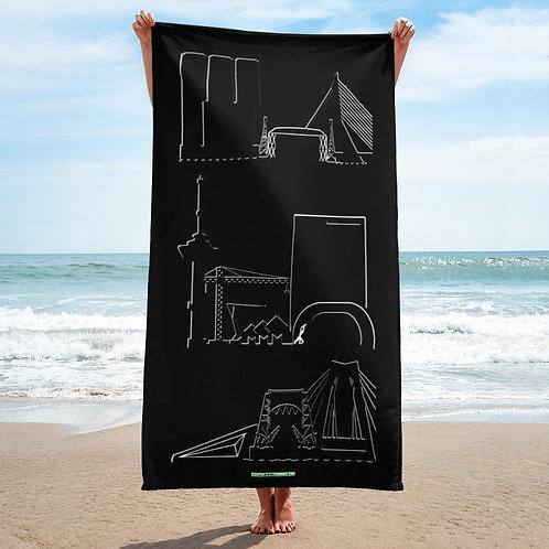 Handdoek DreamSkyLine ToTem Black