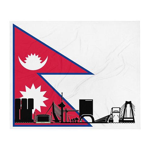Dekenvlag DreamSkyLine Unity Nepal