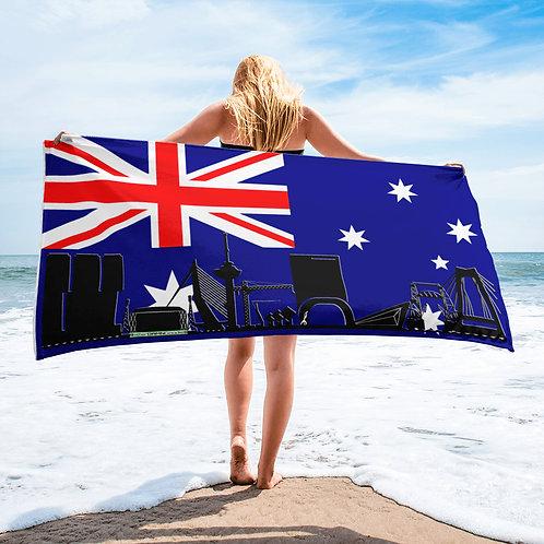 Handdoekvlag DreamSkyLine Unity Australië