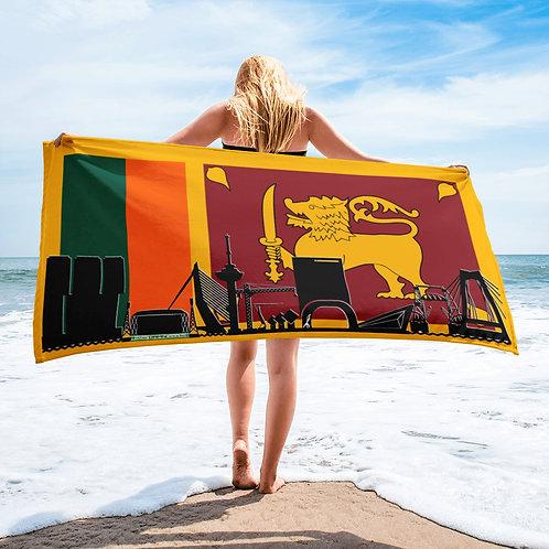 Handdoekvlag DreamSkyLine Unity Sri-Lanka