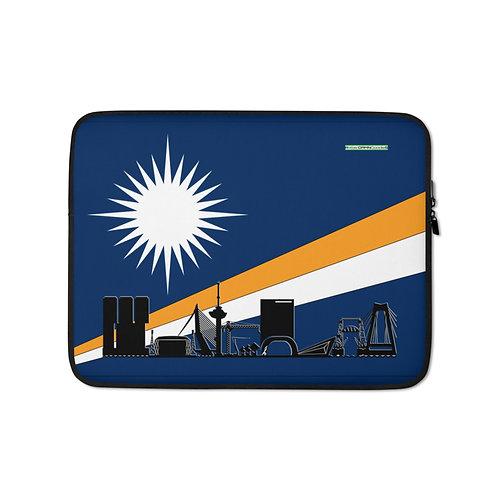 Laptopsleeve DreamSkyLine Unity Marshall Eilanden