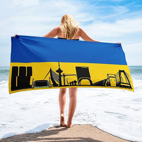 Handdoekvlag DreamSkyLine Unity Oekraïne