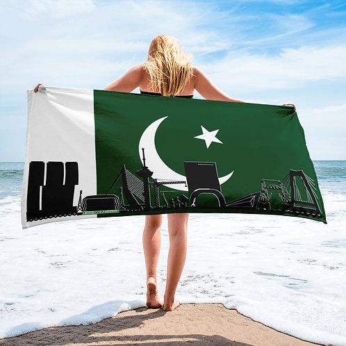 Handdoekvlag DreamSkyLine Unity Pakistan