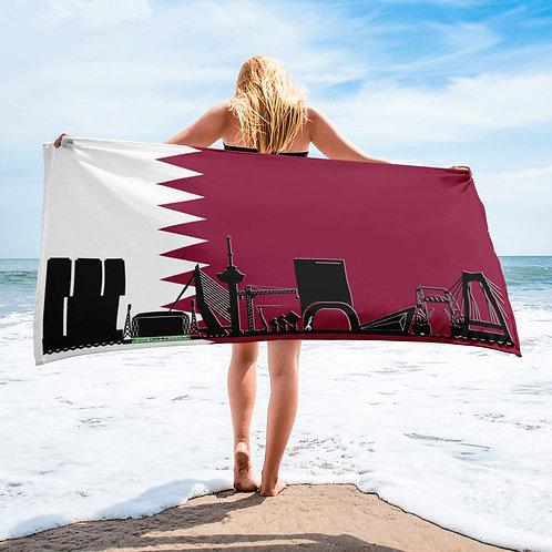 Handdoekvlag DreamSkyLine Unity Qatar