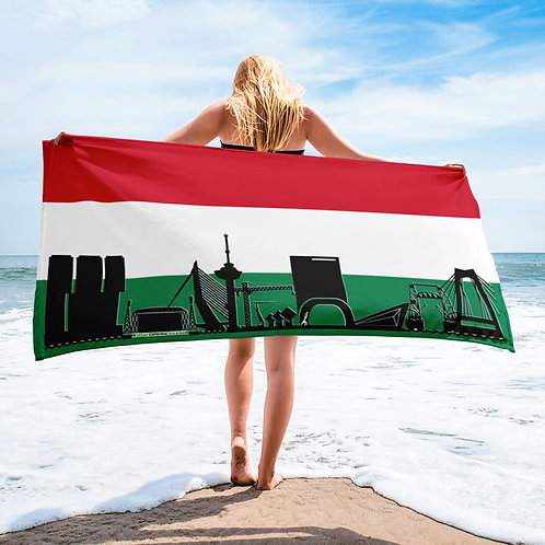 Handdoekvlag DreamSkyLine Unity Hongarije