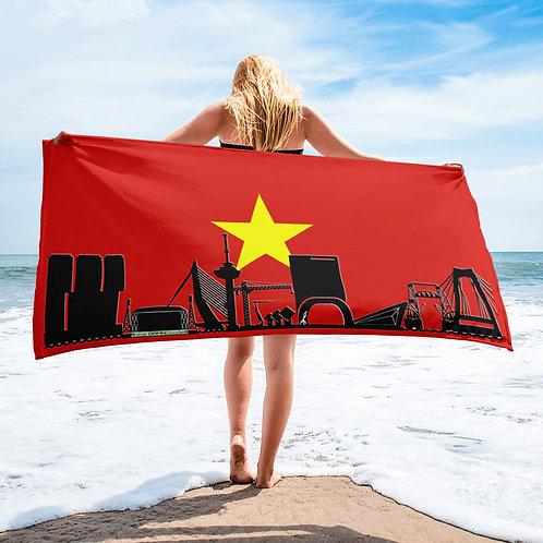 Handdoekvlag DreamSkyLine Unity Vietnam