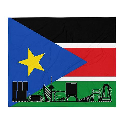 Dekenvlag DreamSkyLine Unity Zuid-Sudan