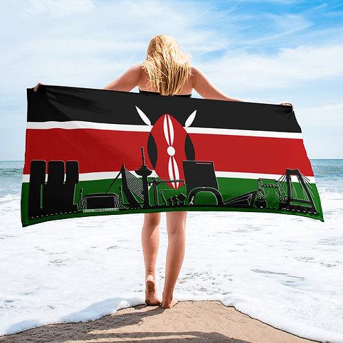Handdoekvlag DreamSkyLine Unity Kenia